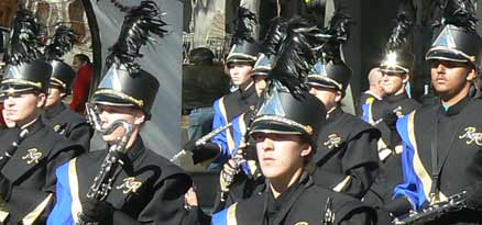 rampart high school band