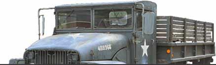 M-221 GMC 2 1/4 ton cargo truck 6x6