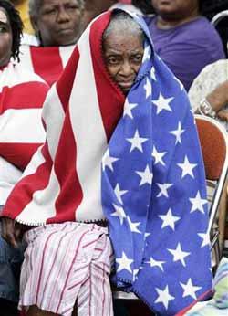 black woman, New Orleans