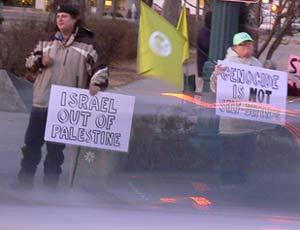 Free Gaza protest