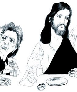 Hillary and Jesus
