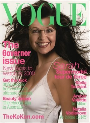 Sarah Palin on Vogue cover