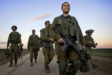 IDF Israeli Defense Force soldiers