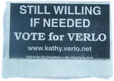 Kathy Verlo reelection ad