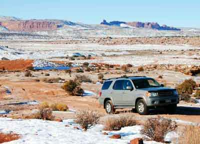 Toyota-Sequoia-offroad-Arches