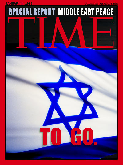 Time magazine cover ISRAEL TIME TO GO