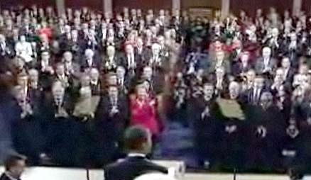 Obama addresses tele-prompters instead of Congress