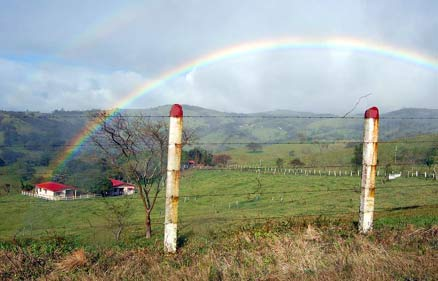 Costa Rican rainbow Central Highlands