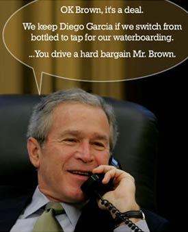 George Bush on water boarding
