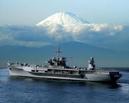 uss-blue-ridge Mount Fuji