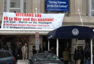 VA banner drop