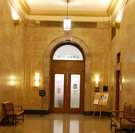 Colorado State Court Room 6