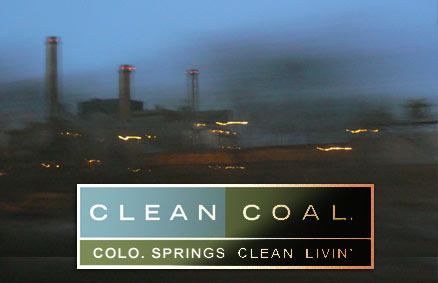 Colorado Springs Coal Power Plant