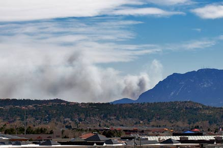 Ft Carson fire of 2008
