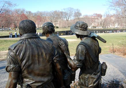 US Vietnam Veterans War Memorial