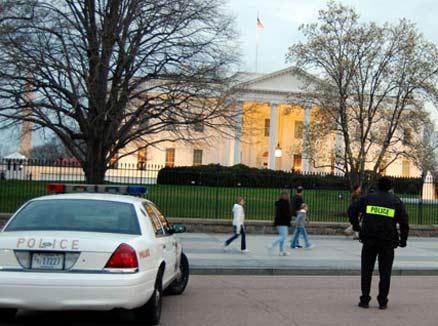 White House police presence