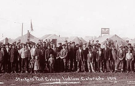 Ludlow Tent Colony 1914