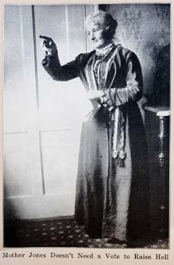 Mary Harris Jones portrait from her 1925 autobiography