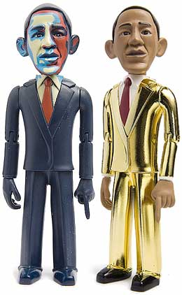 Barack Obama toy figures