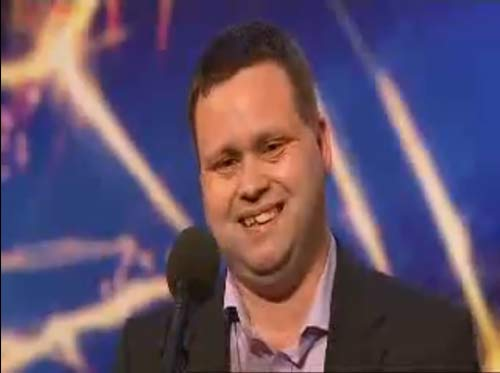 Tenor Paul Potts on Britains Got Talent