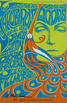 Tim Thumb psychedelic poster