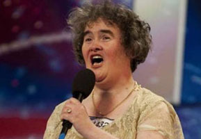 Susan Boyle on 2009 Britains Got Talent
