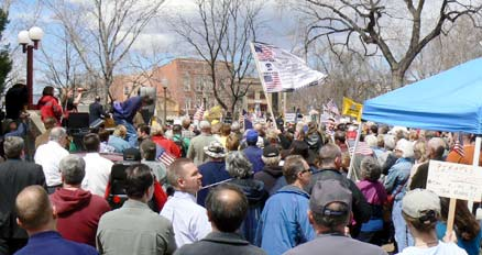tax day tea party white male