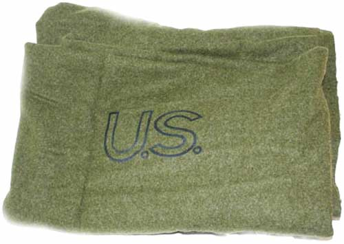 US Army blanket