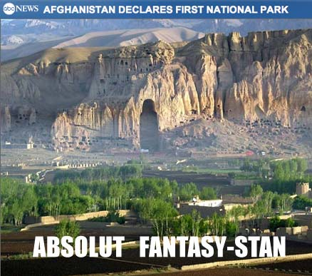 First Afghanistan National Park is an hallucination