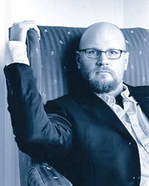 Augusten Burroughs author of Running with Scissors