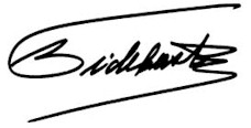 Fidel Castro signature