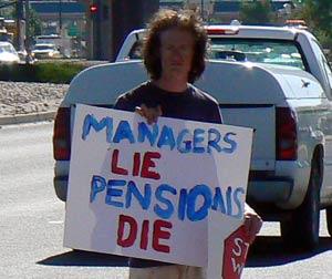 Managers Lie, Benefits Die
