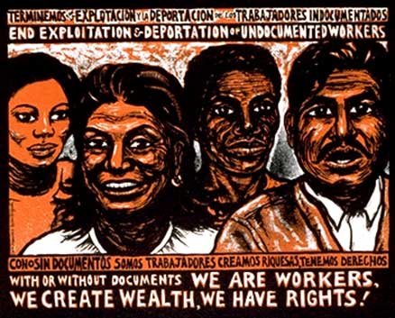 immigrant rights poster