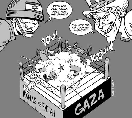 hamas versus fatah