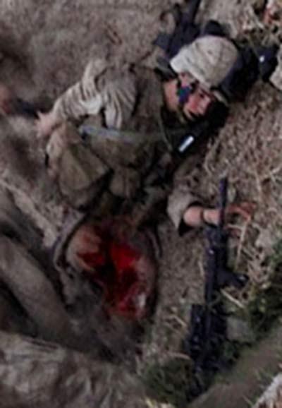 dying US marine