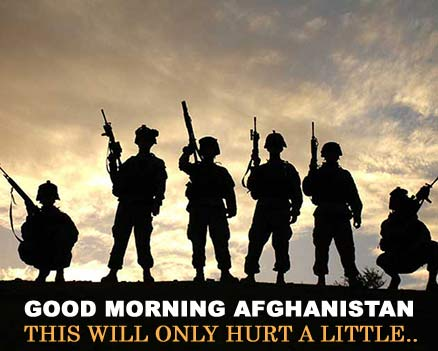 Good Morning Afghanistan - This will only hurt a little