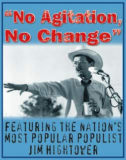no agitation no change