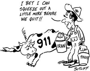 Exploiting 911 to justify Iraq and Afghanistan