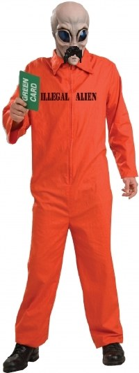 Illegal Alien Costume manufactured by Forum novelties, Avery Schreiber mustache not included
