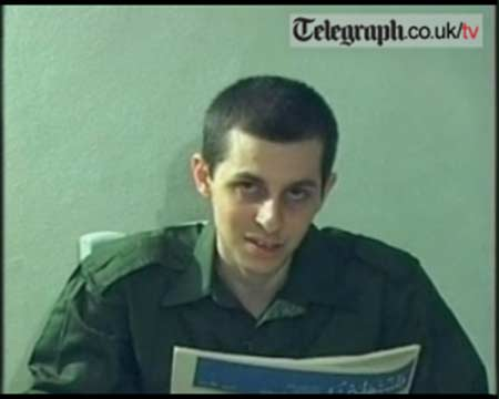 Galid Shalit kidnapped by Hamas in 2006