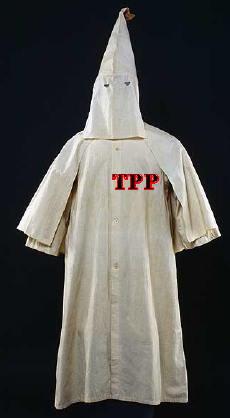 Klu Klux Klan Minuteman Racist Bigot anti-immigrant robe